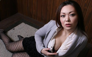 Busty Asian Milf Masterfully Rides Dick
